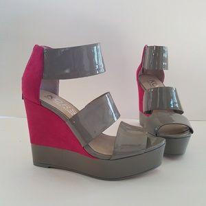 MICHAEL KORS High Heel Ankle Strap Sandal size 6.5